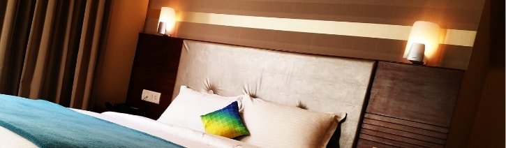 Picture of a headboard.