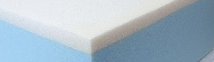 Foam mattress.