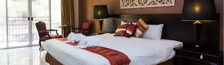Expensive bed sheet set.