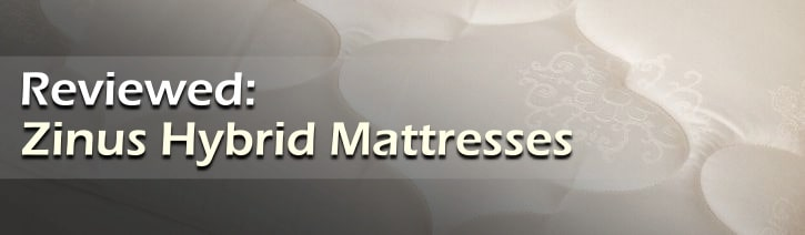 Zinus Hybrid Mattress Reviews Featured Image Tile.