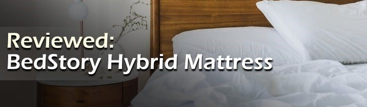 BedStory Hybrid Mattress Review Featured Image.
