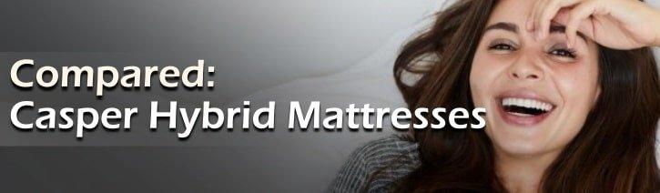 Casper Hybrid Mattress Reviews Featured Image.