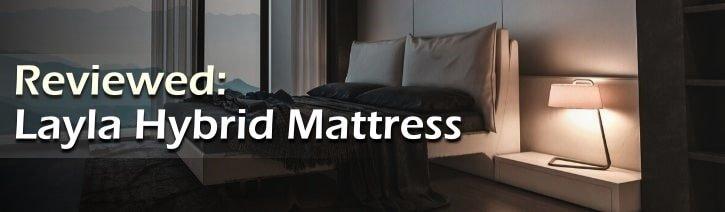Layla Sleep Hybrid Foam Mattress Review Featured Image.
