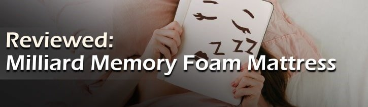 Milliard Memory Foam Mattress Review Featured Image