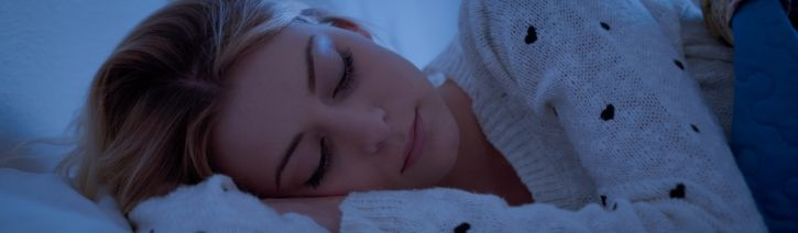 Woman Sleeping on a Vesgantti Mattress.