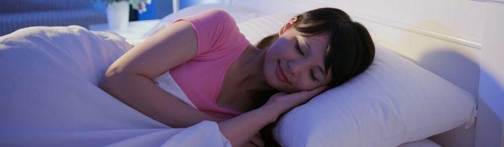 Woman Sleeping on an Inofia Mattress.