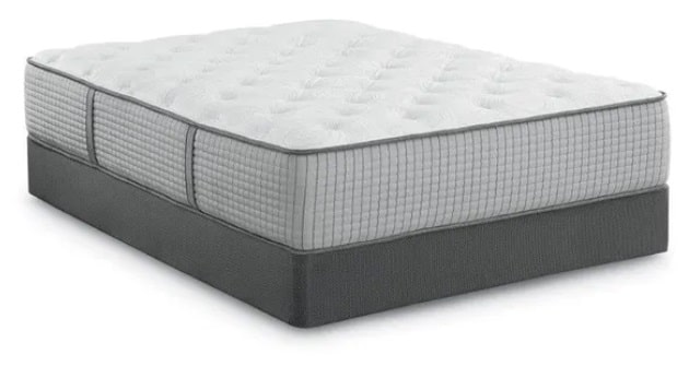 The Restonic Biltmore Meadow Trail Plush 13 Inch Mattress.