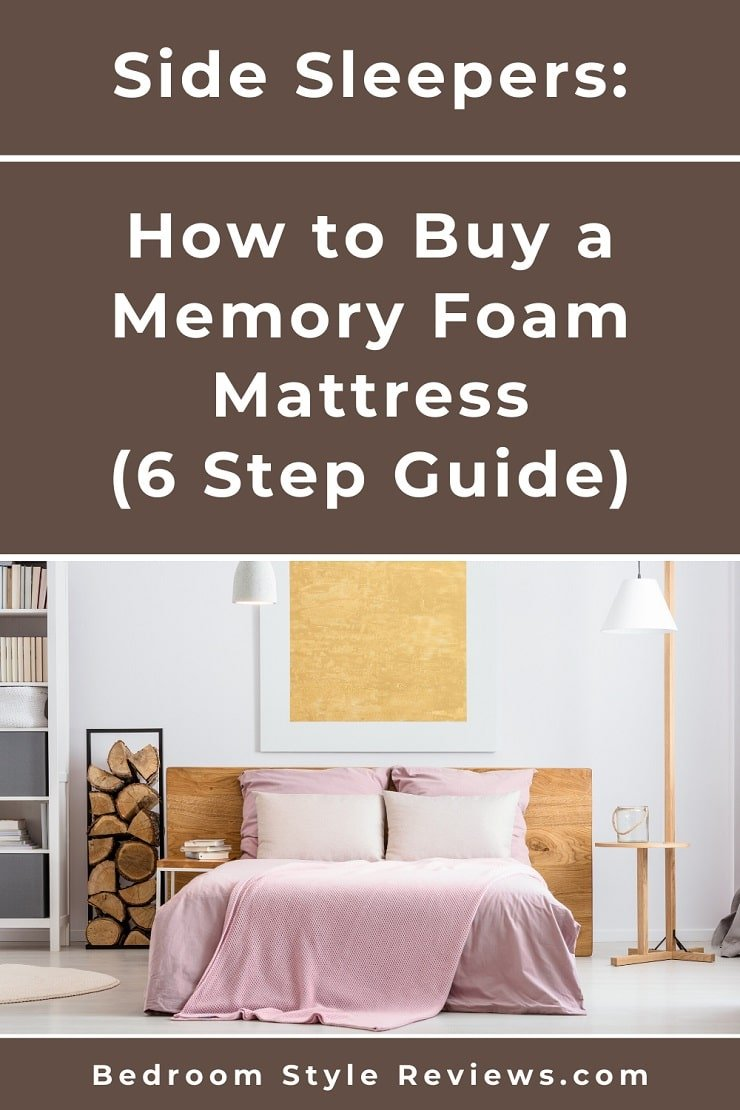How to Buy a Memory Foam Mattress For Side Sleepers in 6 Steps Cover Photo.
