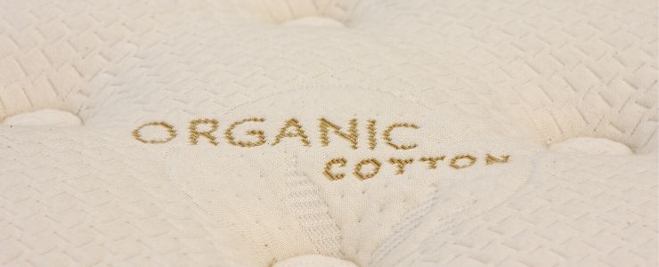 Organic cotton mattress cover.