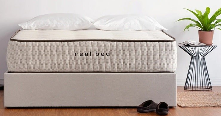 The Real Bed Mattress Set Up.