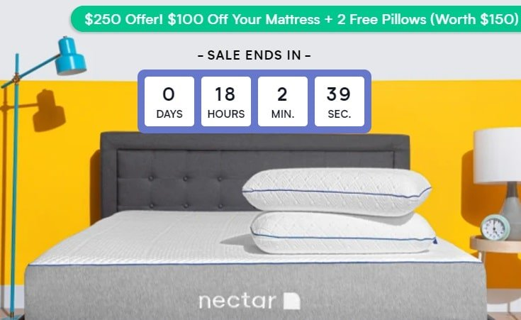 Nectar Mattress Discount.