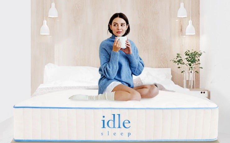The Idle Hybrid Mattress.