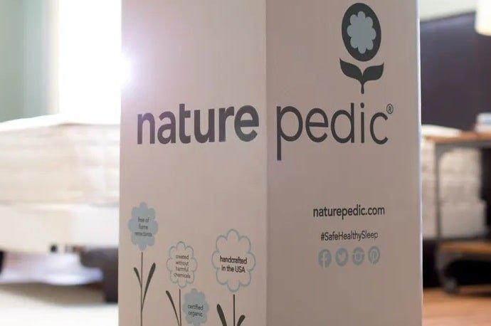 The Naturepedic Chorus Organic Mattress in the Box.