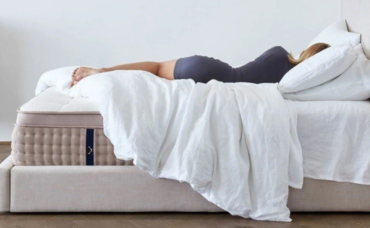 The DreamCloud Premier Hybrid Mattress.