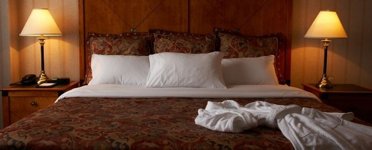 A Comfortable Hotel Mattress.