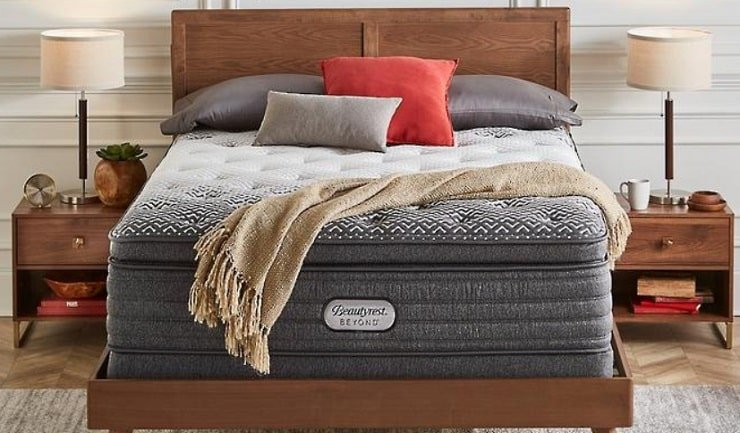 The Beautyrest Beyond Plush Pillow Top Mattress.