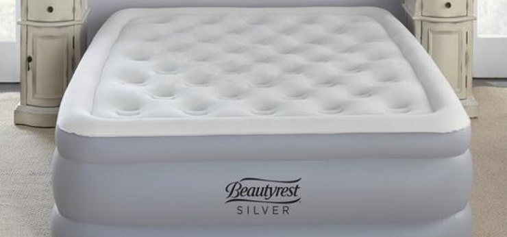 The Beautyrest Silver 18 Inch EverFirm Air Mattress.