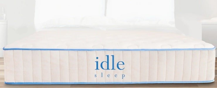 The Idle Latex Hybrid Mattress.
