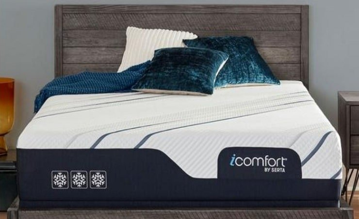 "Serta iComfort CF3000 12"" Medium Mattress."