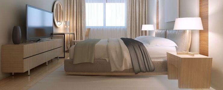 A Bedroom Designed on a Budget.