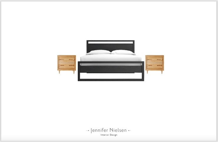 Bed and Nightstand Concept