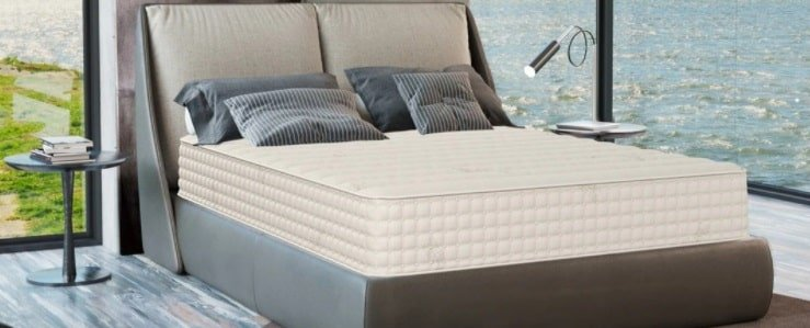 The Botanical Bliss Organic Latex Mattress.