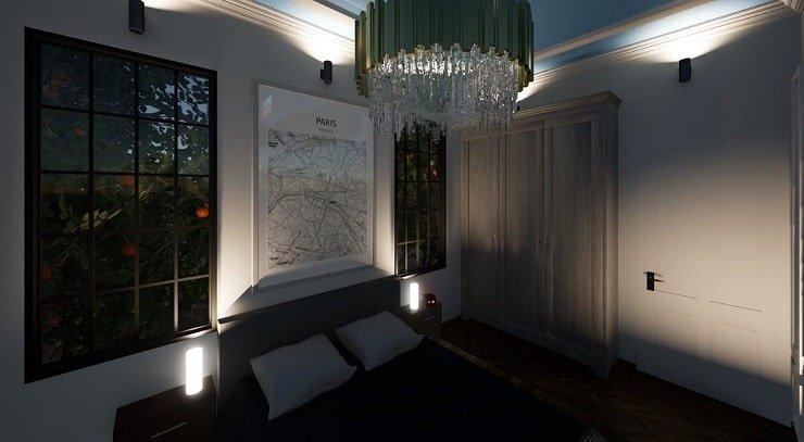 Bedroom Task Lighting