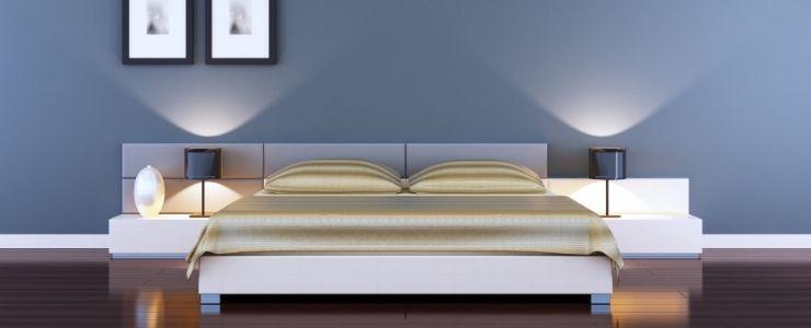Minimalist Bed and Decor