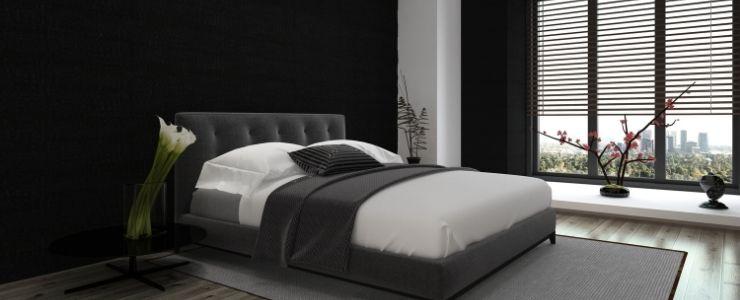 Minimalist Bedroom Blinds