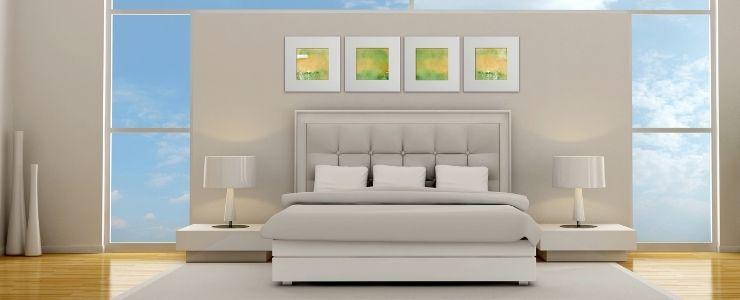 Minimalist Bedroom With Natural Light