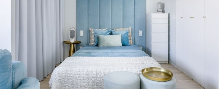 Upholstered Bedroom Wall
