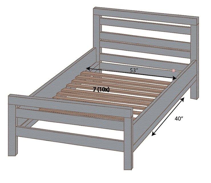 Adjustable Bed Slats