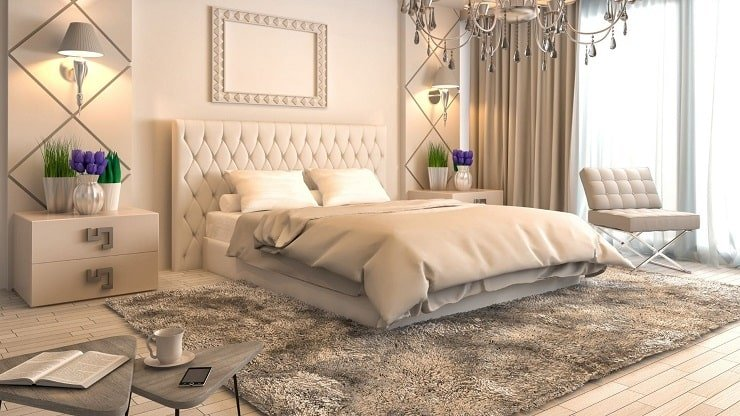 Classic Bedroom Design For Married Couples