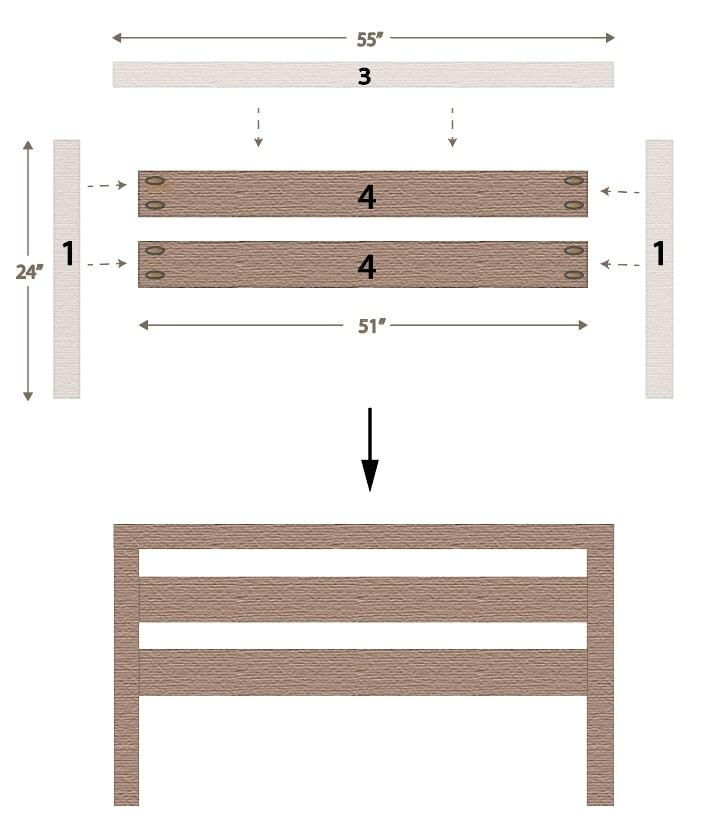 Footboard for Adjustable Bed