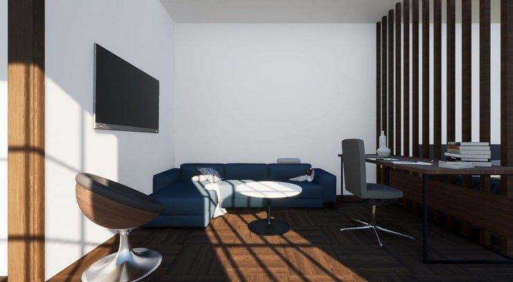 Large Desk for Airbnb Bedroom