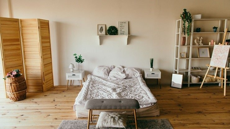 Minimalist Indie Bedroom Design