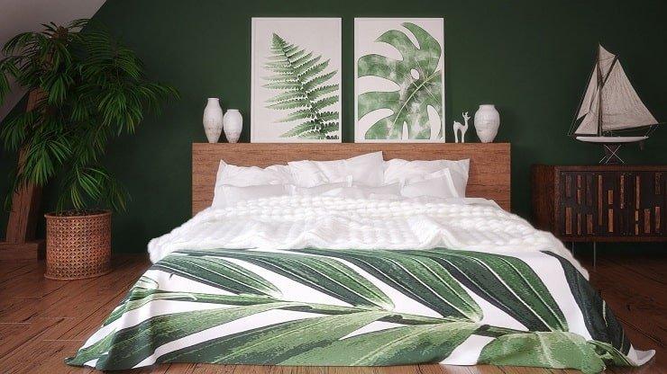Natural Indie Bedroom