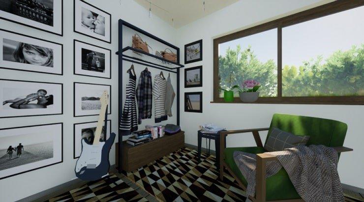 Plants in an Indie Bedroom