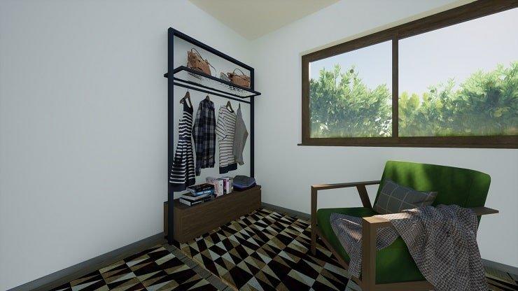 Seating in Indie Bedroom