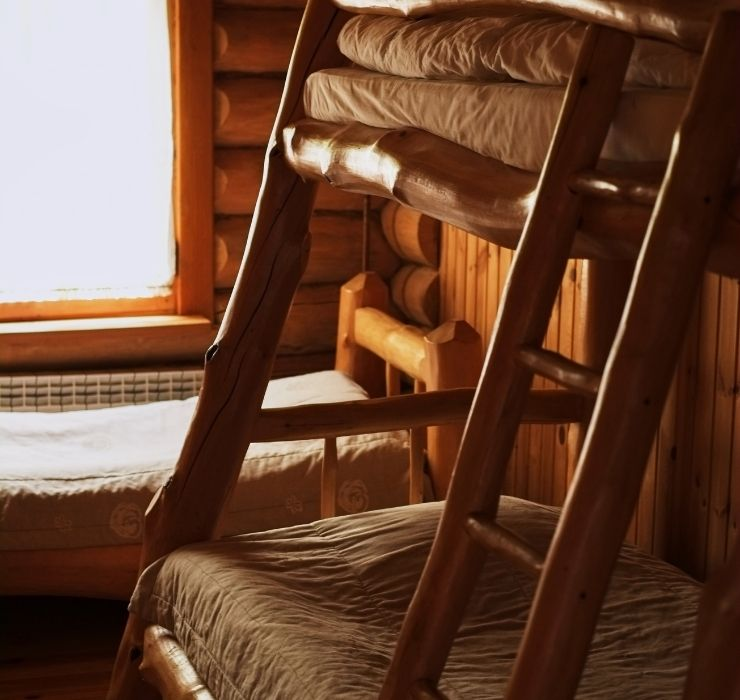 Slanted Loft Bed