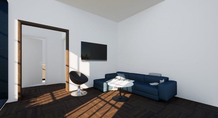 Sofa and Chair for Airbnb Bedroom