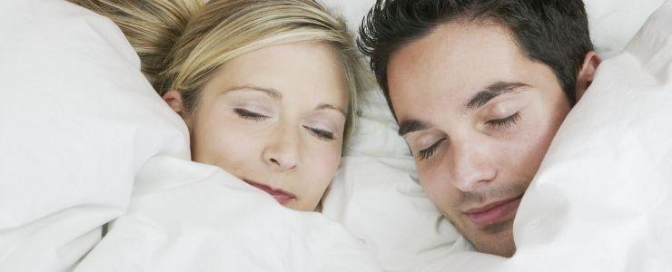 Couple Sleeping.