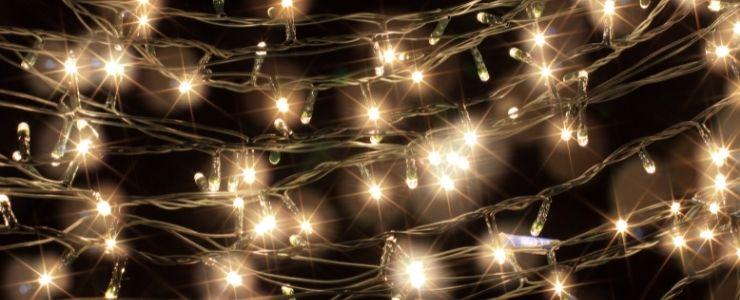 Fairy Lights on Bedroom Wall