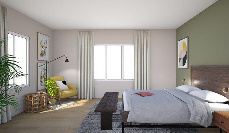 Olive Bedroom Color