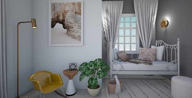 Bedroom With Cozy Sleeping Nook