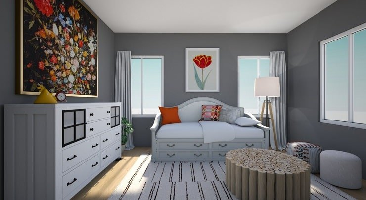 Bedroom With Daybed