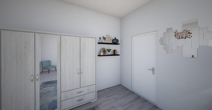 Shelves Behind Door