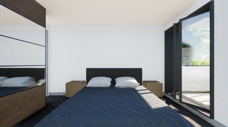 Small Bedroom With Small Headboard