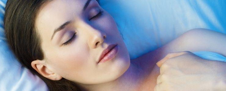 Woman Sleeping Without Benzodiazepines