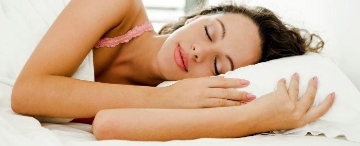 Woman With Sleep Apnea